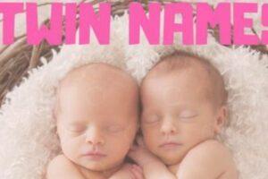 双胞胎的姓名,掐好了吗?
